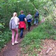 Gemeinsam Auftanken im Wald